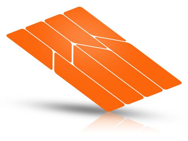 Riesel Design re:flex Autocollant réfléchissant pour cadres, orange